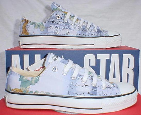 b30fbe1bf44d 7 Chucks With Animal Print Uppers Dragon pattern low cuts