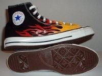 converse flame high tops