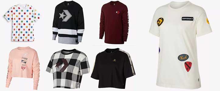 Converse tee shirts