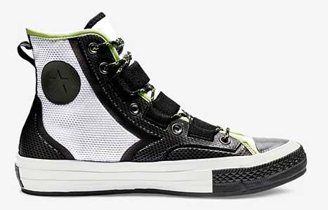 1e8cb167c28e Chuck 70 Tech Hiking Boots in White Black Lime
