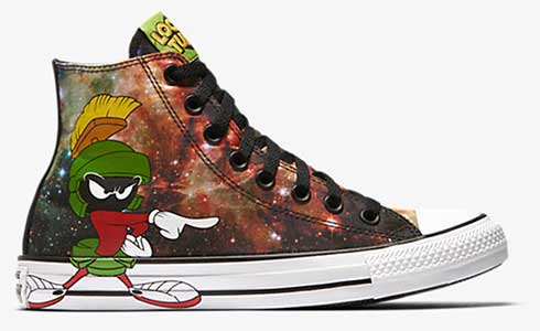 Marvin the Martian high top