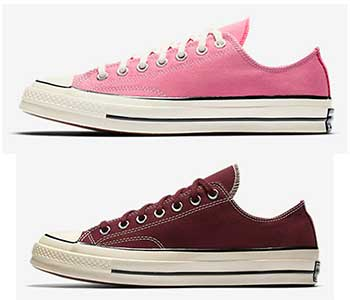 Sangria and Rose all Star 70 low tops b2cacada5