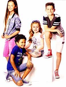 Kids wearing chucks