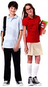 school kids wearing chucks