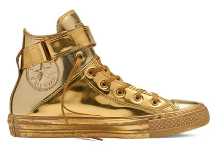 brea metallic gold hi