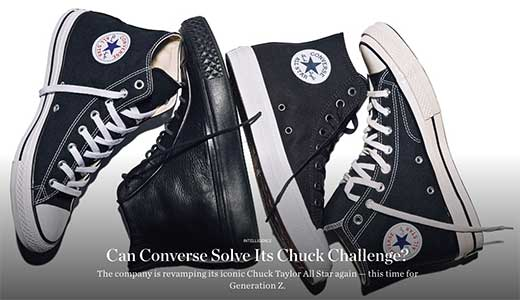 For models of chucks