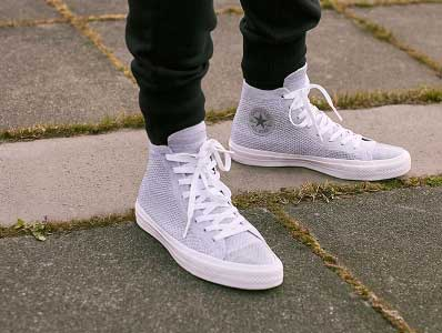739364fcb9da Converse Flyknit high top.