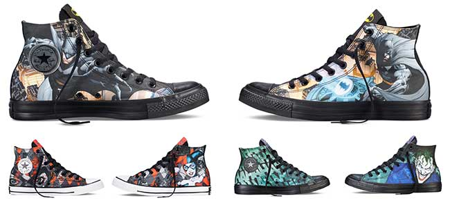 dc comics print chucks
