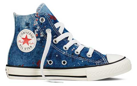 kids painted denim hi