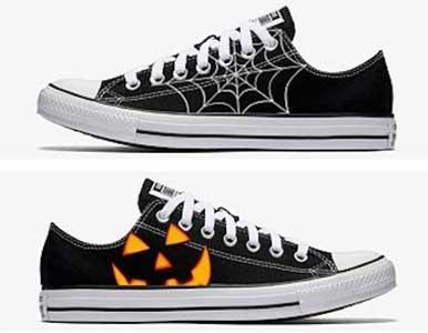 Halloween chucks
