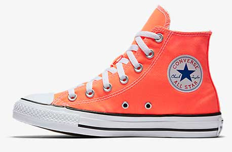 Hyper Orange high top