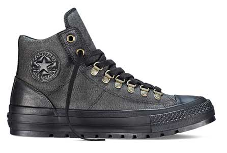 The all black Converse All Star Street Hiker. f69e7cb06