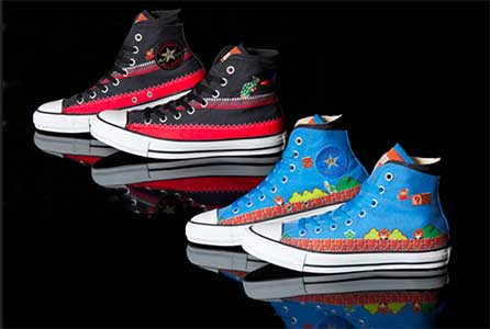 Super Mario Brothers High Tops
