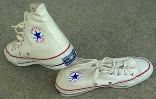 converse shoes in the 80s