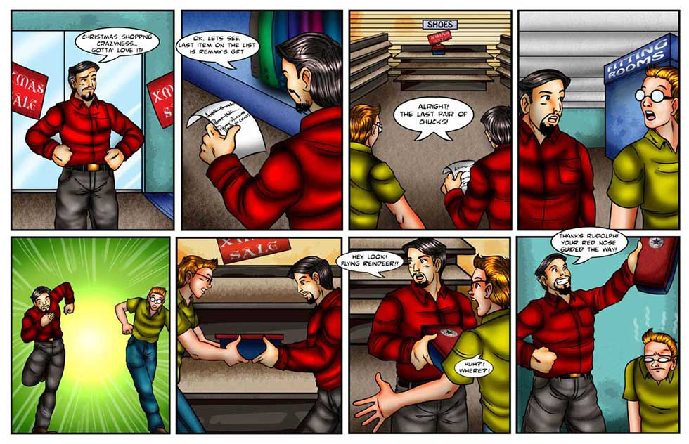 Chucks Life Comic Strip The Last Pair Of Chucks