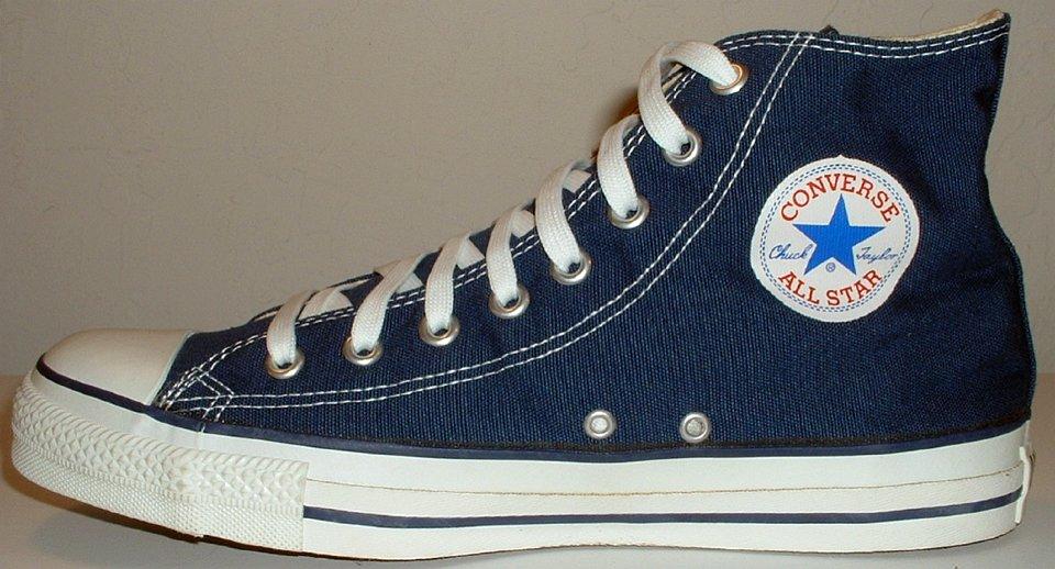 Core Navy Blue High Top Chucks b84378f29