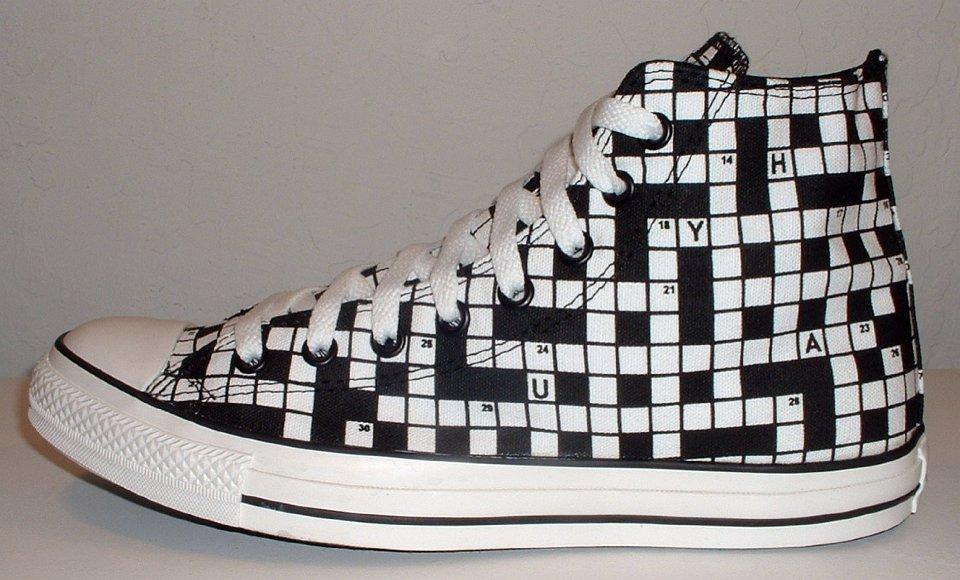 e98d1d0dbb8b Rare crossword puzzle Converse all stars