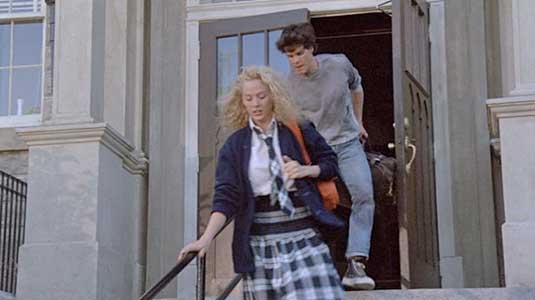 Joe helps Lisa escape from the convent school