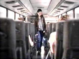 As Heather boards the bus, she thinks back on all of the things revealed that day