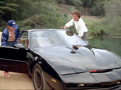 Jason and Michael escape in KITT