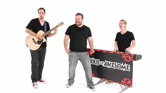 "4 Chords"" by Axis of Awesome"