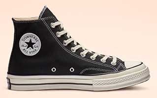 Black Chuck 70 high top
