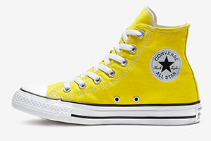 Bold Citron high top
