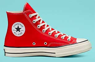 Enamel Red Chuck 70 high