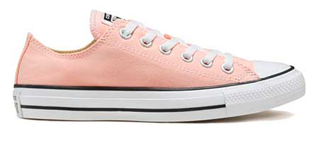 Storm Pink Low cut oxford