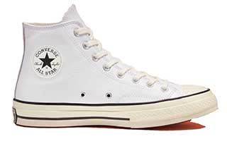 White leather Chuck 70 high top