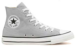 Wolf Grey high tops