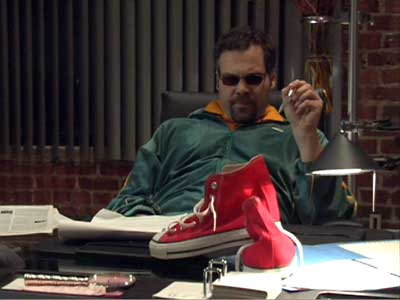 Sneaker magnate Mercado can't figure out why those inexpensive canvas red high tops are so popular and successful.