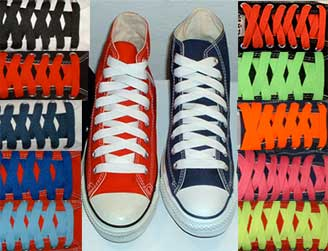 retro shoelaces for chucks