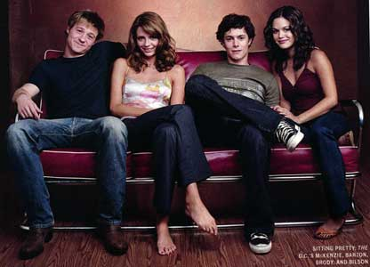 Cast members of The O.C.