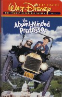 The Absent Minded Professor cover