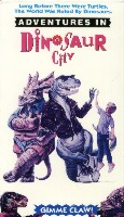 Adventures in Dinosaur City cover