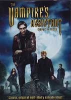 The Vampire's Assistant cover